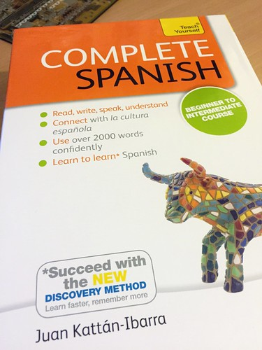 Today is all about...wanting to learn a language