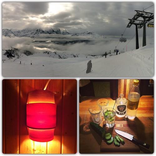 Oh such a #perfectday...  #Ski fahrn @ #Hasliberg #Schweiz #Sauna & #GinTonic