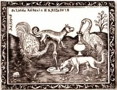 BONGIOVANNI MARGHERITA-Opera 1_La cicogna e la volpe_esopo