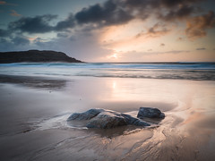 """Dalmore Sunset, Isle of Lewis • <a style=""""font-size:0.8em;"""" href=""""http://www.flickr.com/photos/26440756@N06/26293945373/"""" target=""""_blank"""">View on Flickr</a>"""