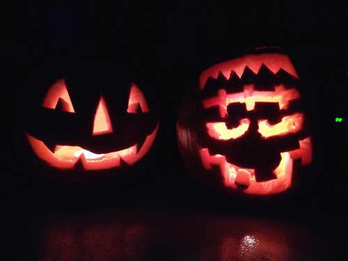 Today is all about...pumpkin carving 🎃👻