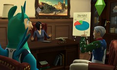 les sims 4 patch carriere
