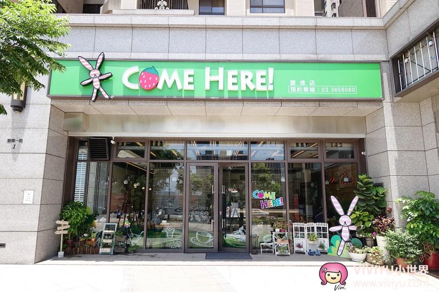 COME HERE,八德美食,桃園美食,燉飯,義大利麵 @VIVIYU小世界
