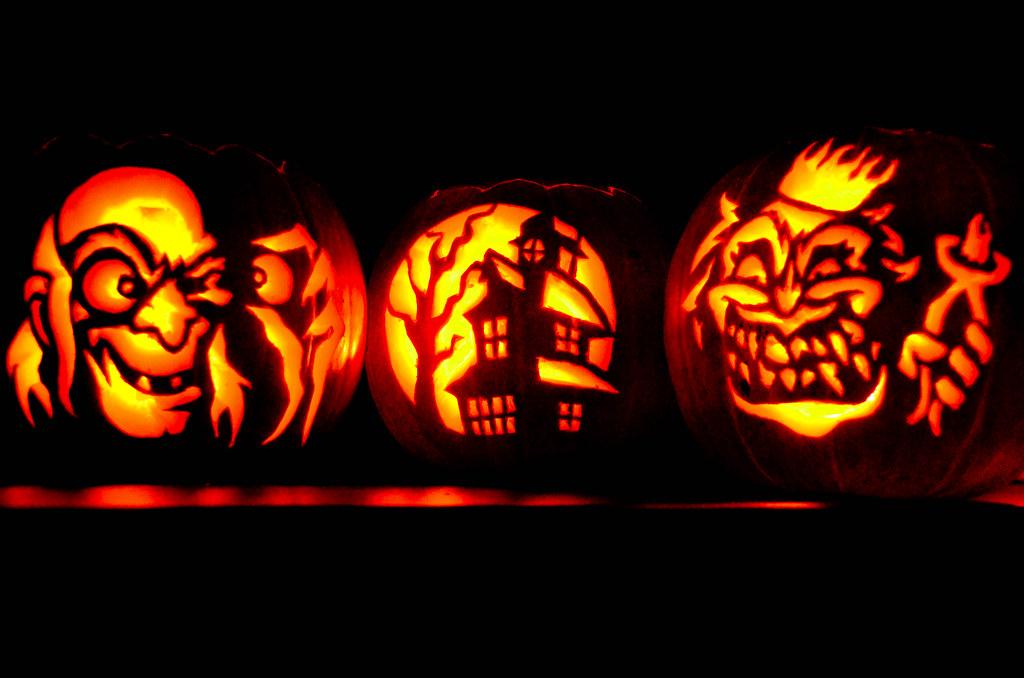 The World's Best Photos Of Pumpkin And Stencil