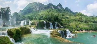 ban gioc waterfall - vietnam
