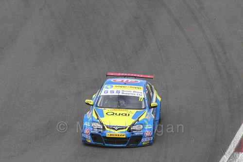 Dan Welch during the BTCC Brands Hatch Finale Weekend October 2016