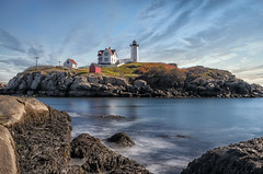 "Nubble Point Light • <a style=""font-size:0.8em;"" href=""http://www.flickr.com/photos/19514857@N00/15591911788/"" target=""_blank"">View on Flickr</a>"