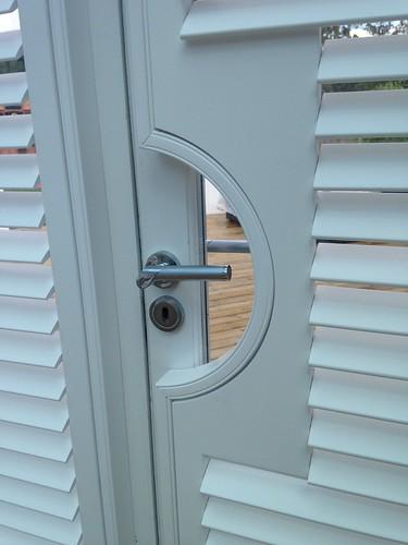 Custom Handle Cutout Shutters Gosfield, Essex