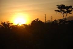 sunrise pagi hari sebelum menuju kawah ratu