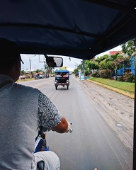 Day 518. In the outpost city of Iquitos. The only way in is by boat or plane. Just a few years ago there weren't any cars at all, even today there's only a handful. Shortly, I'll be taking a bus away from the city to the camp. #theworldwalk #travel #peru