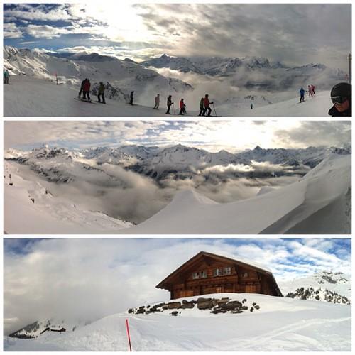 #Ski fahren @ #Hasliberg #Schweiz #Alpen #alps