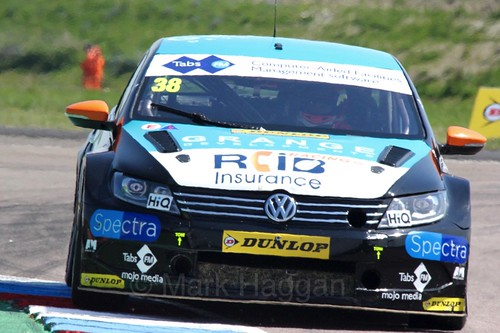 Mark Howard during the BTCC Weekend at Thruxton, May 2016
