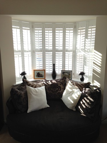 Full height bay shutters, Bures, Suffolk
