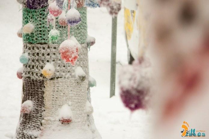 Neve nos Pontos de Cristal, Largo João de Deus na Guarda