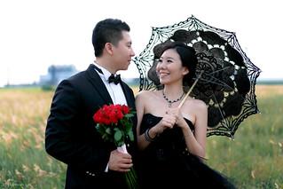 Pre-Wedding [ 中部婚紗 - 海邊草原系列婚紗 ] 婚紗影像 20140911 - 4358-1