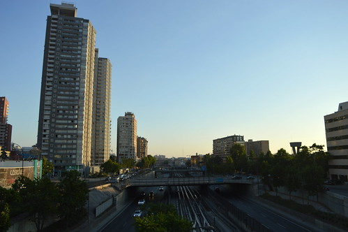 Sun Sets on Santiago