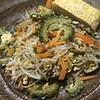Photo:ゴーヤチャンプルー。 #dinner 作りました。沖縄県産ゴーヤが安かったので。だし巻きを添えて。 #添えて By