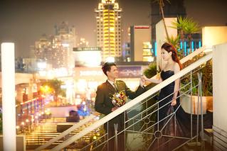 Pre-Wedding [ 中部婚紗 - 海邊草原建築類婚紗 ] 婚紗影像 20160118 - 354拷貝