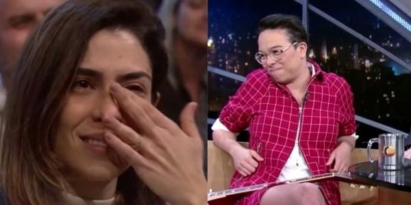 """No """"Jô"""", mulher de Gadú se emociona com declaração de amor da cantora"""