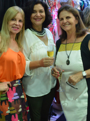 Glória, Wanda Zeferino e Milene Coelho