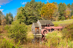 "Grist Mill, Vt • <a style=""font-size:0.8em;"" href=""http://www.flickr.com/photos/19514857@N00/15592307280/"" target=""_blank"">View on Flickr</a>"