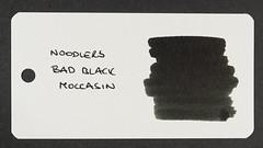 Noodler's Bad Black Moccasin - Word Card