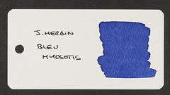 J. Herbin Bleu Myosotis - Word Card