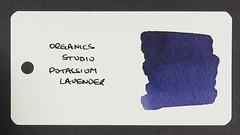 Organics Studio Potassium Lavender - Word Card
