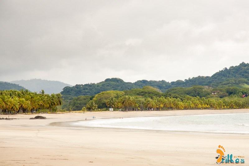Uma das praias mais bonitas que vimos na Costa Rica