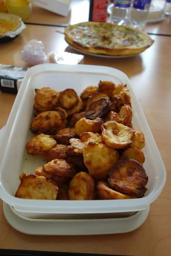 Des tartes au maroilles et des beignets au comté (et plein d'autres bonnes choses).