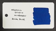Organics Studio Nitrogen Royal Blue - Word Card