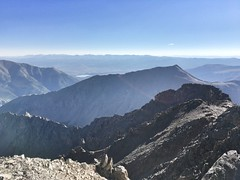 View from La Plata Peak summit to the northeast.