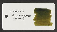 Noodler's El Lawrence (Sample) - Word Card