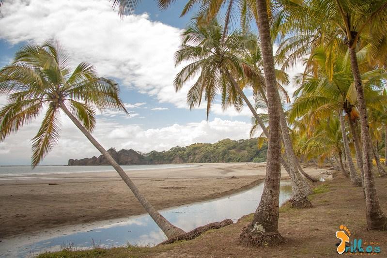 Chegada à Playa Carrillo, na província de guanacaste