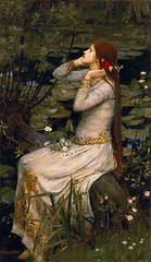 """Ophelia"" 1894 John William Waterhouse"