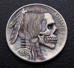 """'Stop All Terror' Hobo nickel • <a style=""""font-size:0.8em;"""" href=""""http://www.flickr.com/photos/72528309@N05/26228380744/"""" target=""""_blank"""">View on Flickr</a>"""