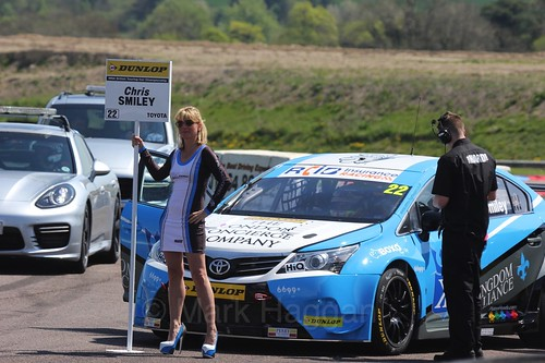 Chris Smiley during the BTCC Weekend at Thruxton, May 2016