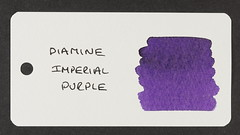 Diamine Imperial Purple - Word Card