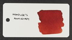Noodler's Antietam - Word Card