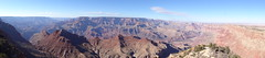 Grand Canyon pano view from the Dsert View visitor center