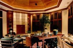 Custom Modern Home Family room