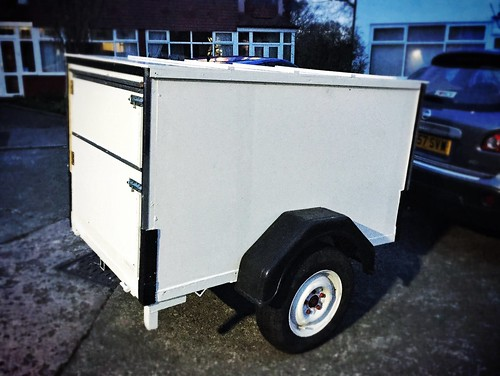 Today is all about...impromptu trailer purchase