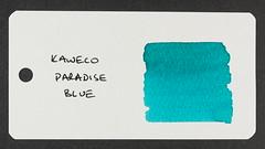 Kaweco Paradise Blue - Word Card