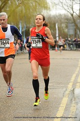 ​Brooks Paddock Wood Half Marathon 2015 Women's race winner- Clare Elms - 1.22.28