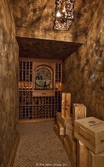 European Home by Dan Sater wine cellar