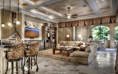 Villa Belle - living room