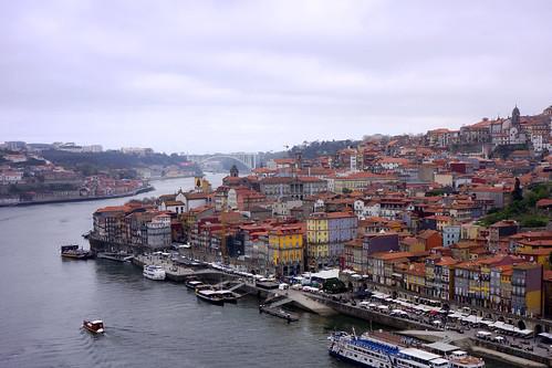 Porto - Vue depuis le pont Louis 1er