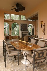 Custom Luxury Home - outdoor dining 3