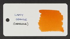 Lamy Orange - Word Card