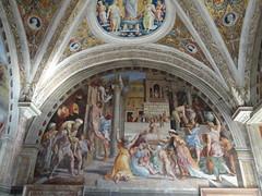 2011 05 10 Vatican museum - Raphael's Rooms - Fire in the Borgo